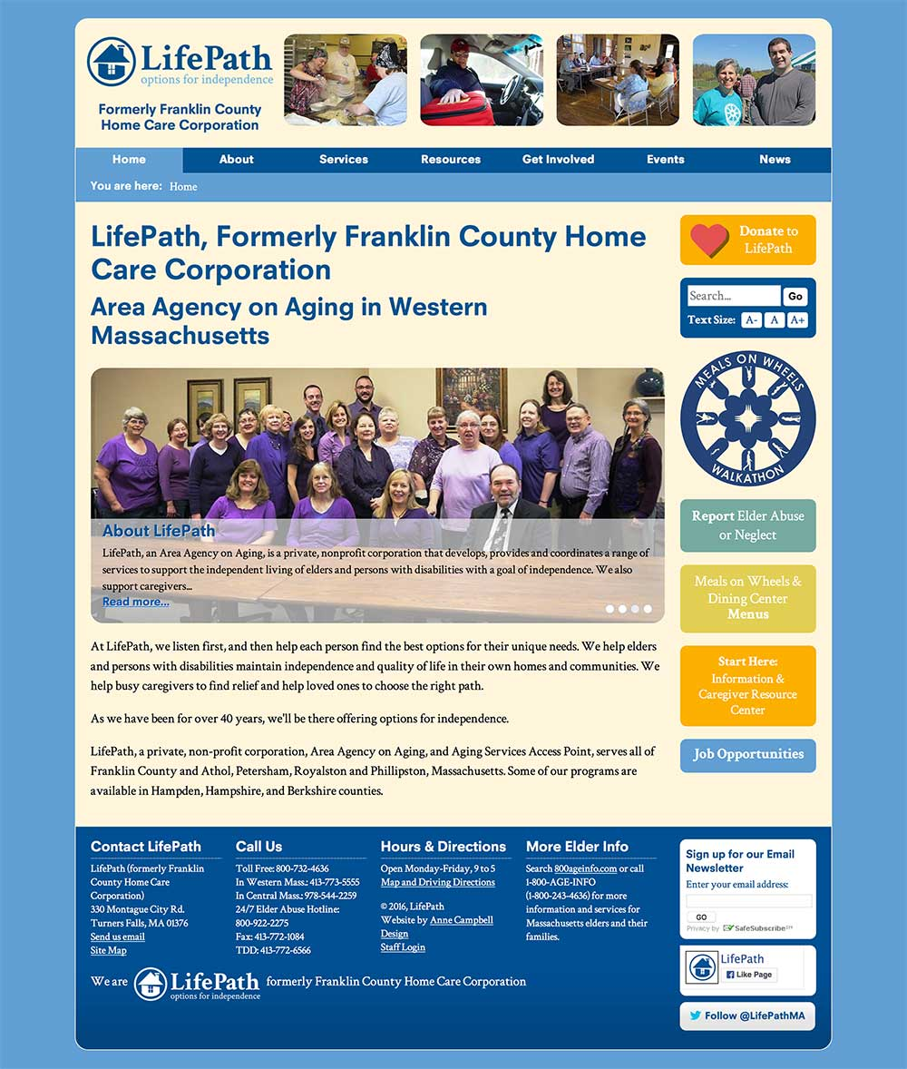 LifePath, formerly Franklin County Home Care Corporation