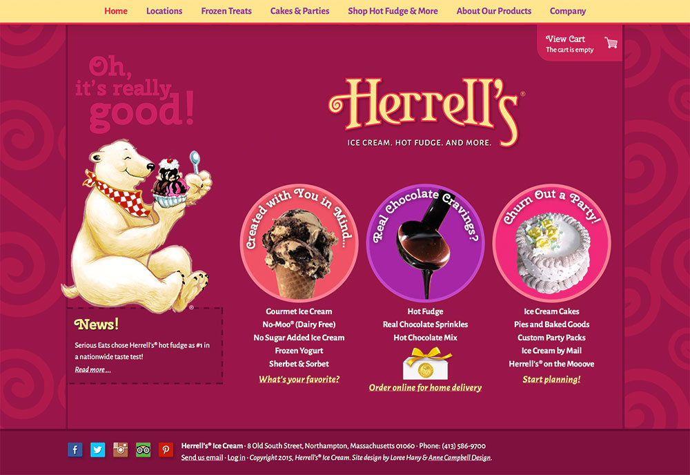 Herrell's Ice Cream